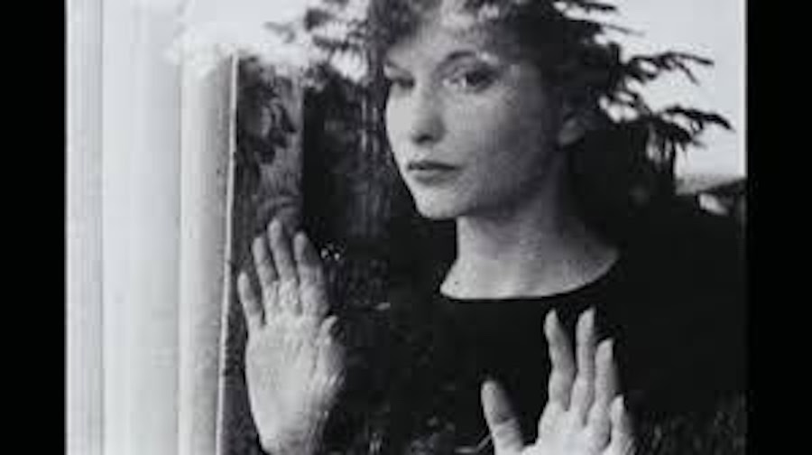 <p>Maya Deren in Meshes of the Afternoon. <BR>Image courtesy Teiji Ito collection, The New York Public Library.</p>